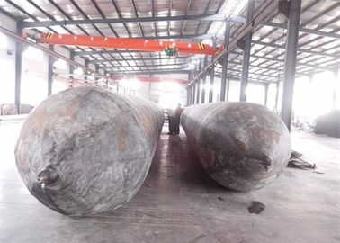 Ship Floating Marine Salvage Lift Bags , Inflatable Buoyancy Bags Anti Wear Characteristic